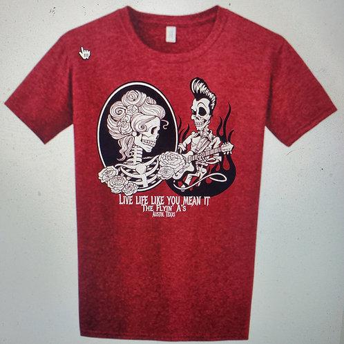 Men's Skull T Red