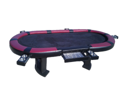 Sick Poker Table - Ace of Hearts