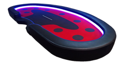 Sick Poker-Ace Of Spades LED Table