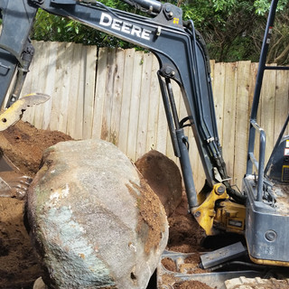 BEFORE,EXCAVATING SERVICES,BACKYARD, RATES,NORTH VANCOUVER, NORTH SHORE, STONE EXCAVATING, LANDSCAPING,50G