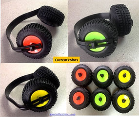 Monster Truck Ear Muffs - Hearing Protection - Jeep - Novelty