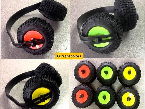 Mini Tire Ear Muffs Jeep/Mud Trucks Novelty