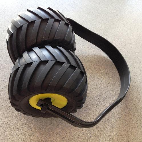 """Monster Truck Ear muffs """"Monster Muffs"""" Kids Hearing Protection Earmuffs Novelty"""