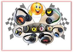 NASCAR Ear Muffs - Hearing Protection - Ear Muffs - NASCAR - Jeep - Monster Truck