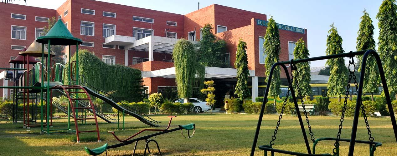 Golden Earth Global School, Sangrur Front Facia