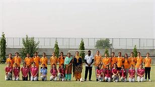 Golden Earth Global School, Sangrur Girls Football Team