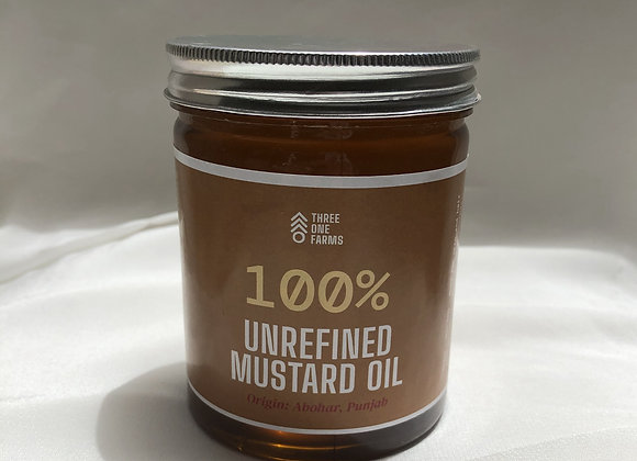 500ML Unrefined Mustard Oil