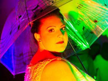 Rainbow bride - Light Up Leicester