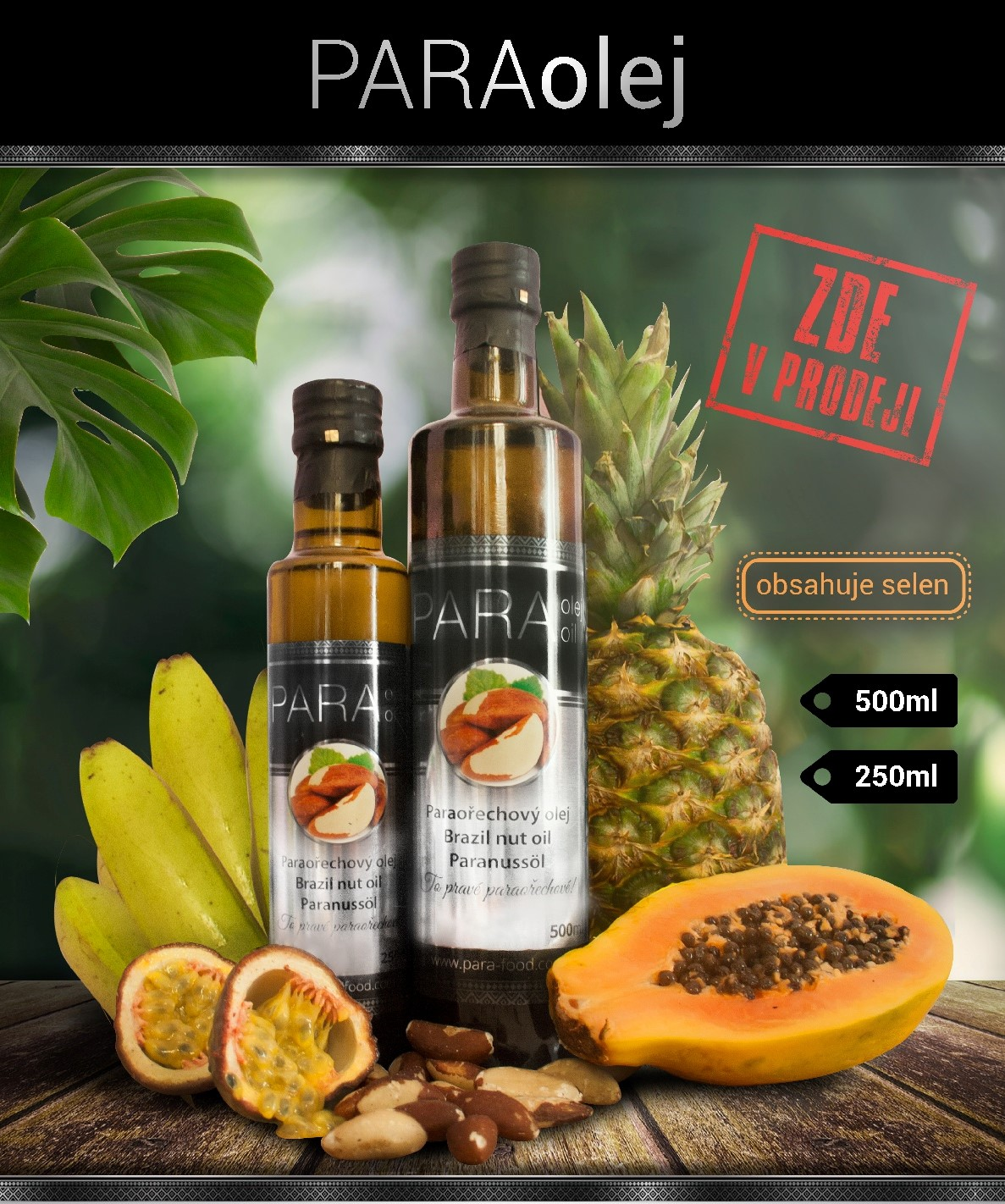 Brazil Nut Oil Shop WHOLESALE