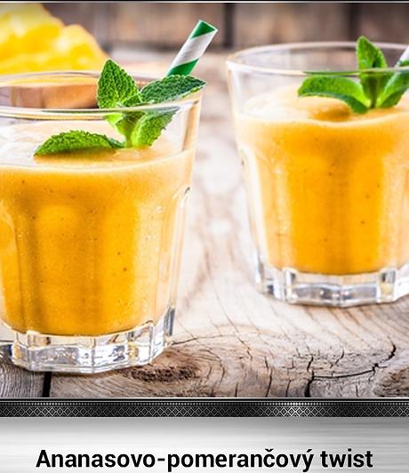Brazil Nut Receipes Para Orechovy Olej Ananasovo-pomerančový twist