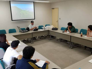 Ritsumeikan Asia Pacific University spent a day learning how to fly their DJi Mavic Drone