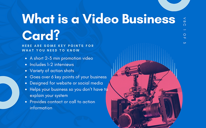 Vancouver Video Promotion Video - What is a VBC