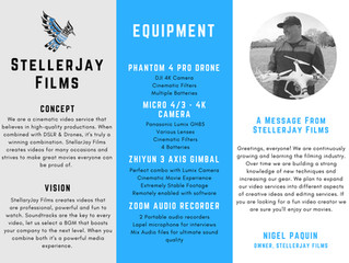 New Brochure Overview of StellerJay Films English PDF