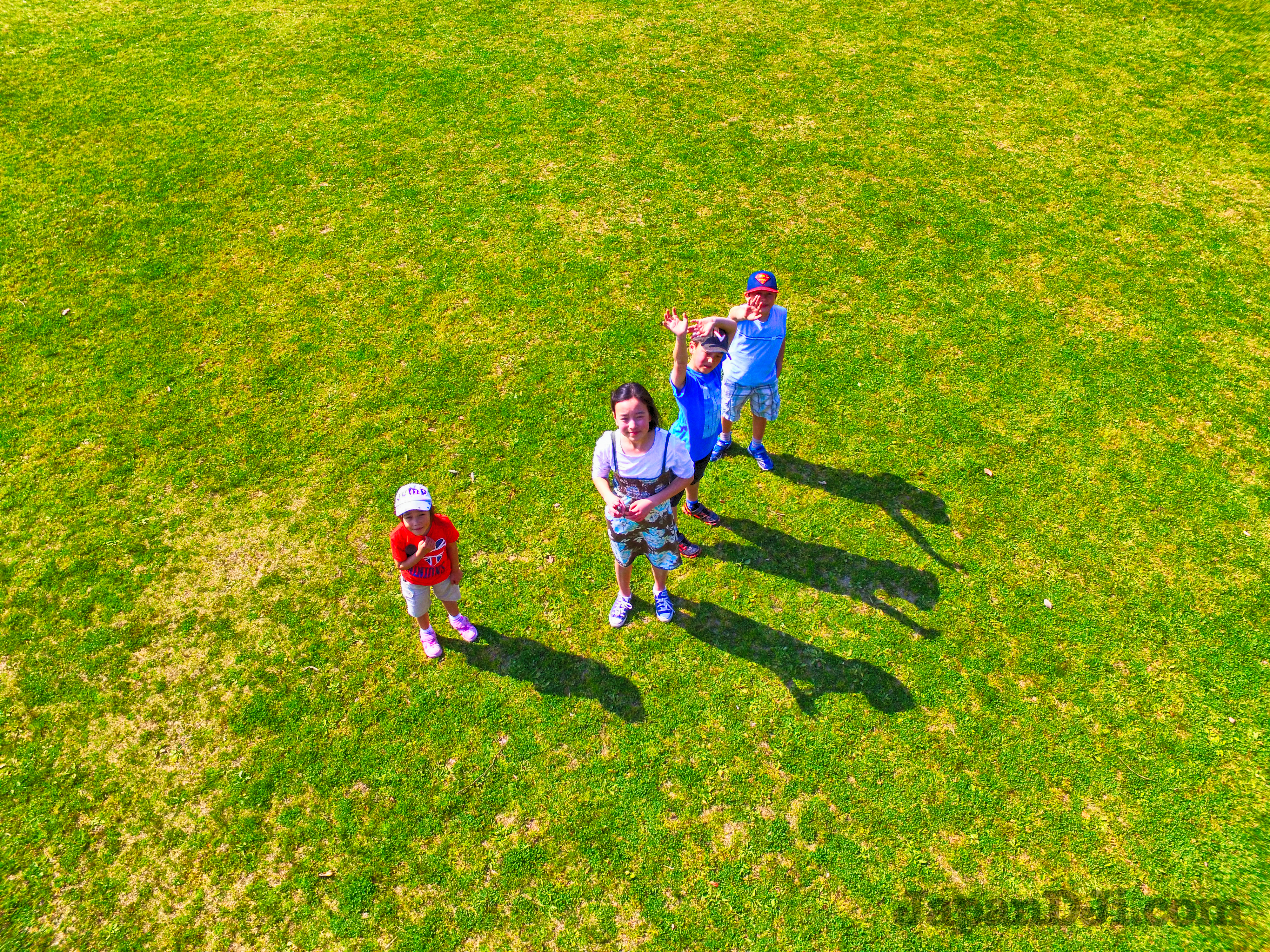 Kids love drones