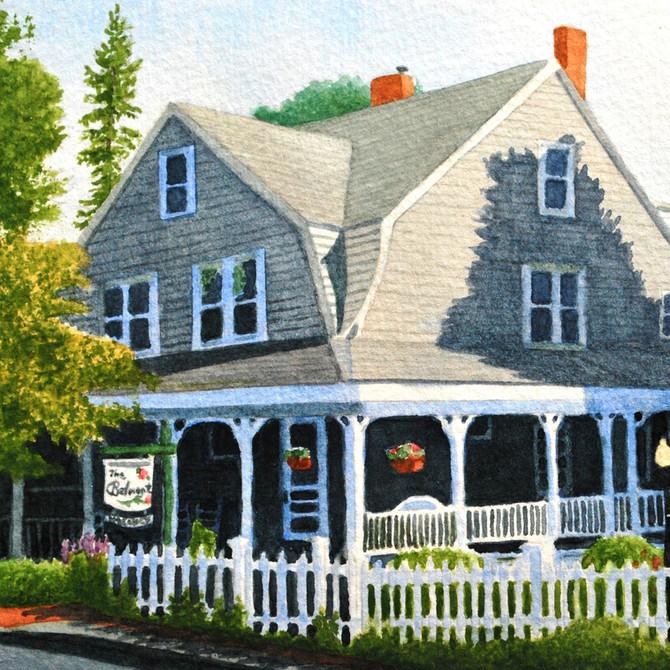 Belmont Inn Article in MaineBiz