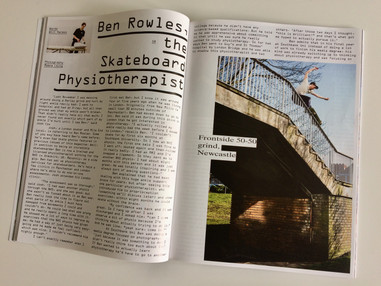 Free Skate Mag Interview, 2019