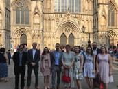 NHS 70th Birthday at York Minster on behalf of Sheffield Hallam University, 2018