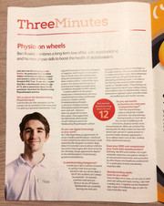 The Chartered Society of Physiotherapy Magazine Article, 2019