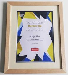Sheffield Hallam Enterprize Awards, Runner Up Prize, 2019