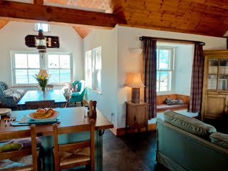 Sandaig Cottage Living Area