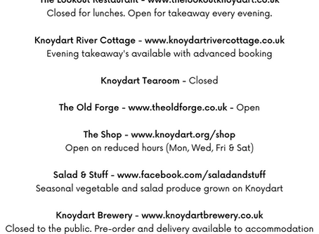 Food & Drink Options - Updated.