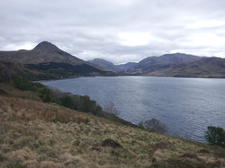 Inverie from Soldier's Rock
