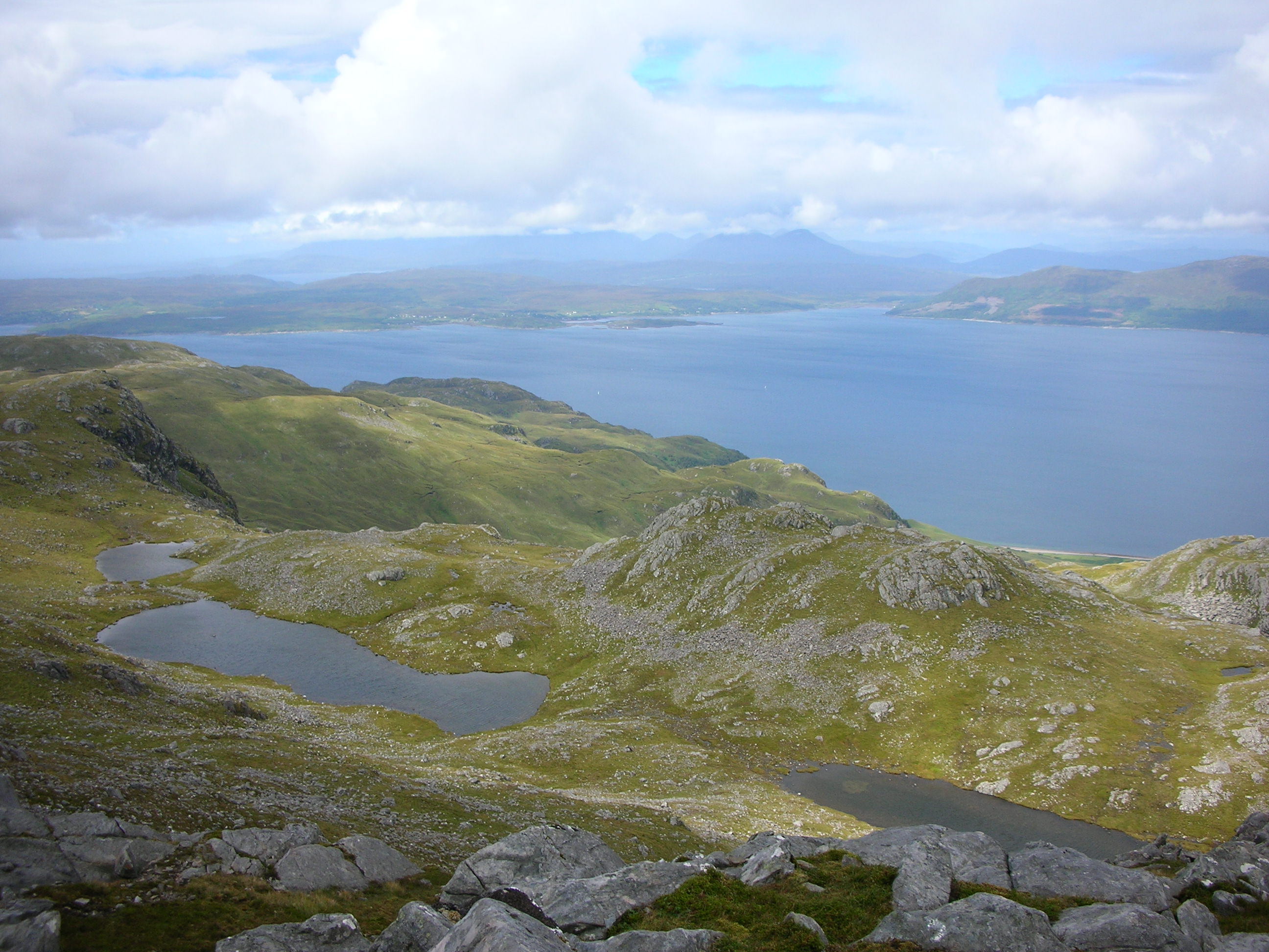 Skye from Bheinn na Caillich