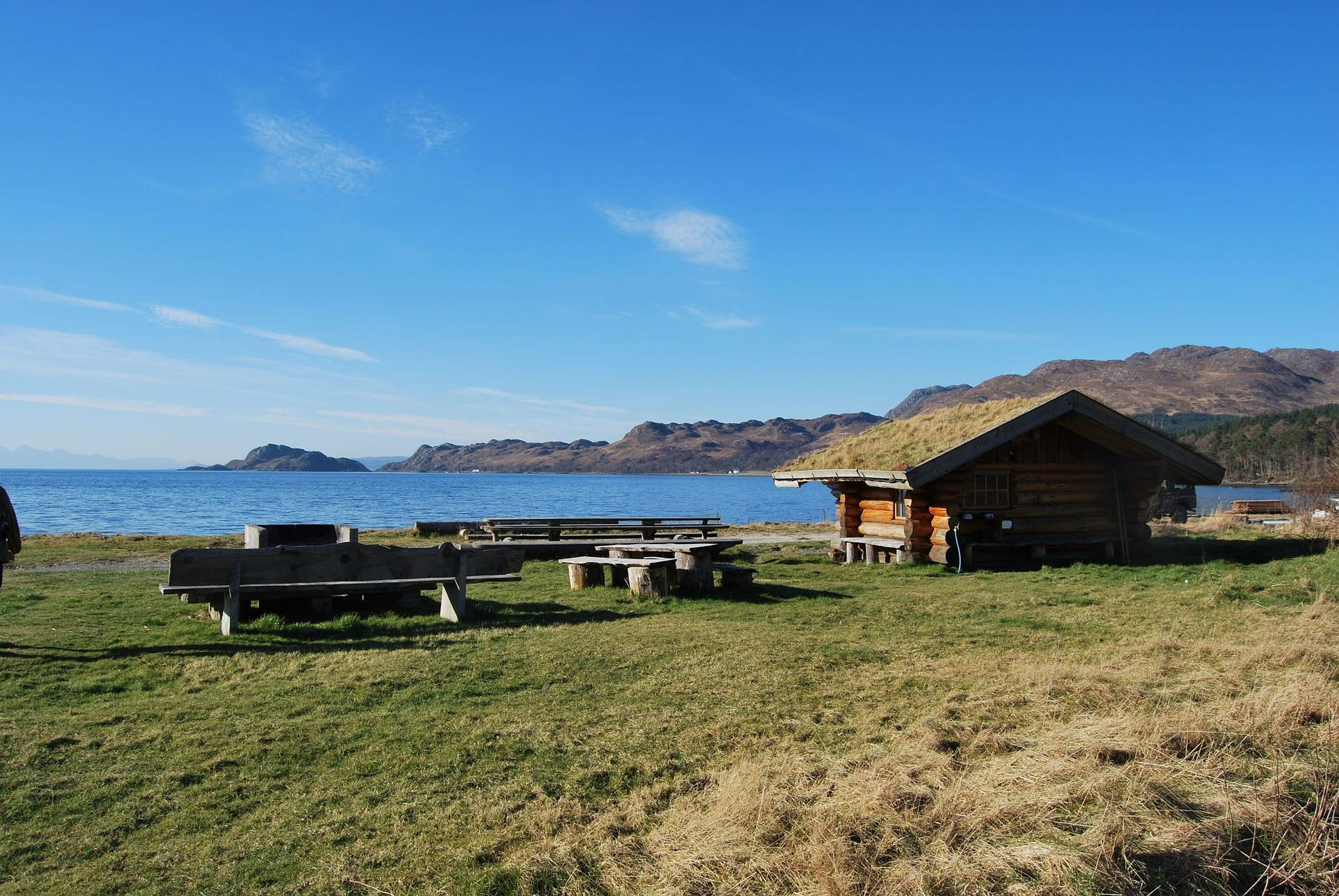Knoydart Foundation Campsite