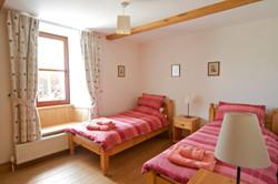 Kilchoan Farmhouse Twin Bedroom