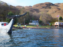 Arrival at Loch Nevis Bunkhouse