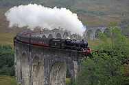 Jacobite Steam Train Glenfinnan Viaduct