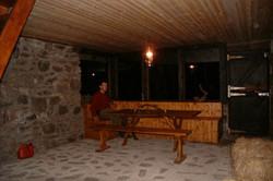 Druim Bothy Dining Area