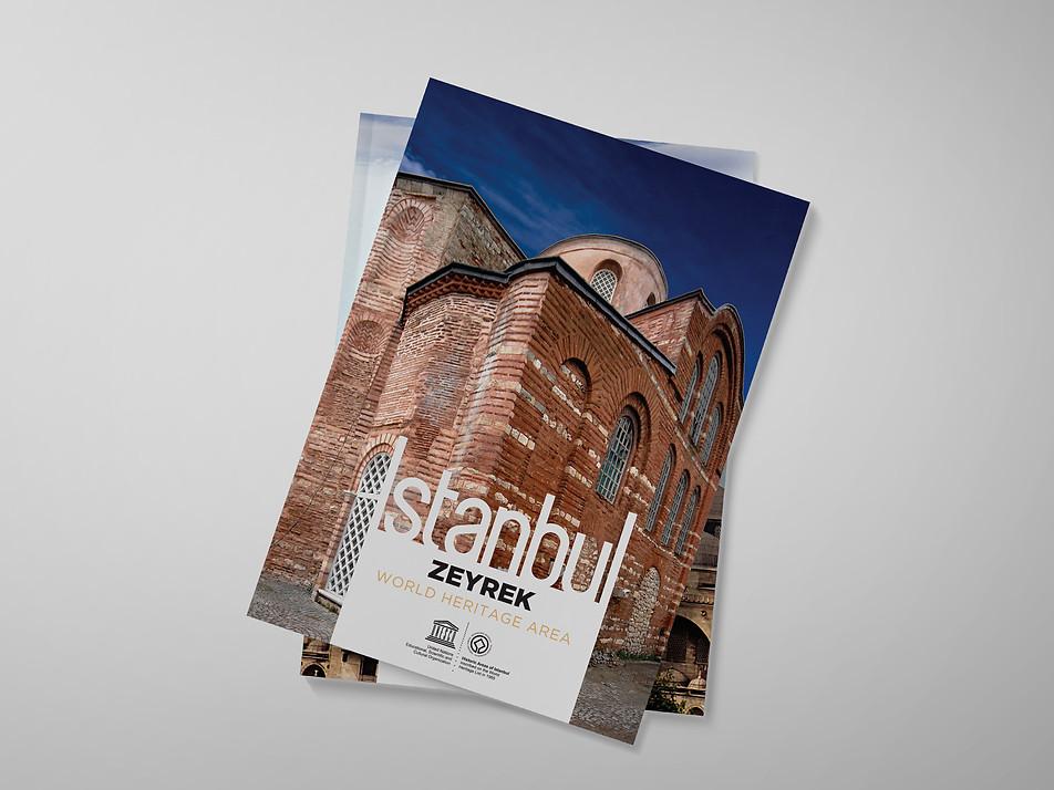 Booklet design cover