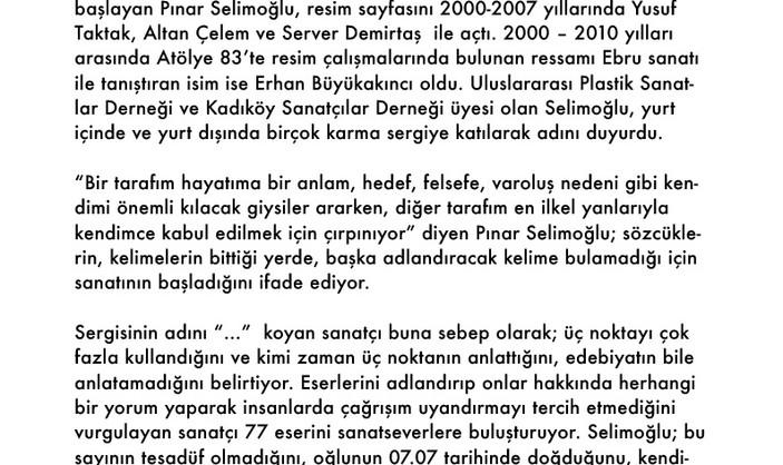 """Pınar Selimoğlu Sadece """"..."""" Diyor!"""