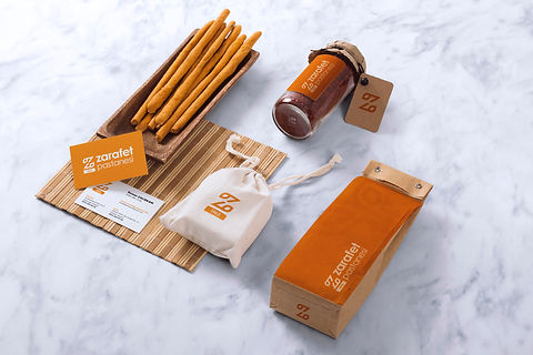 Corporate identity for Zarafet