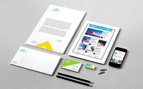 Corporate identity for advenport