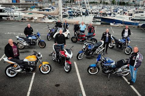 Island Bikers Still in Love with Suzuki's GSX1400 18 Years On!