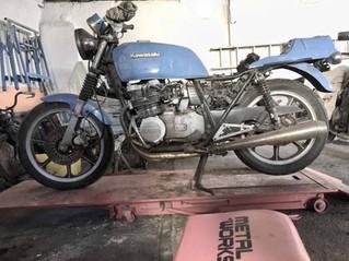 Kawasaki Cafe Racer on a Budget part 1