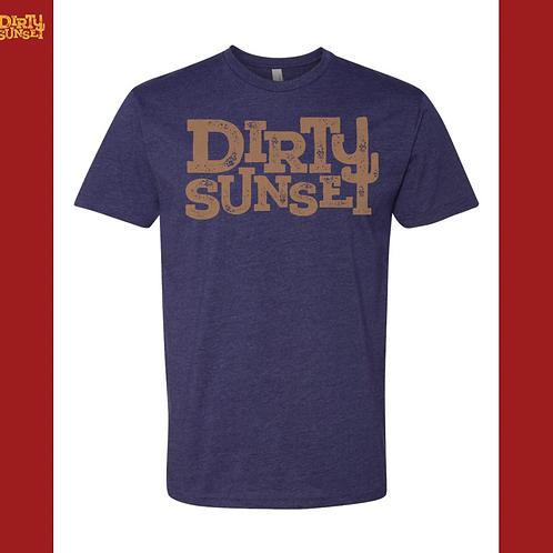 Dirty Sunset Logo Tee