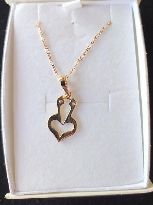 The Mystical Heart Pendant