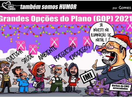 Posição do Somos Coimbra sobre as GOP e o Orçamento da CMC para 2021
