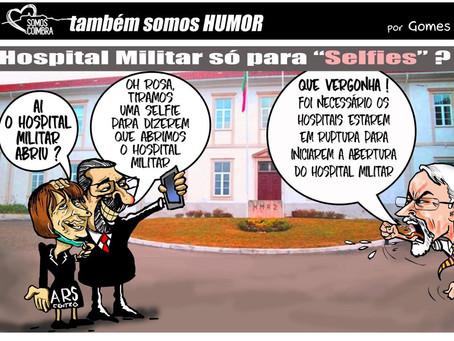 """Abertura do Hospital Militar: """"Valeu a pena a intervenção do Somos Coimbra"""""""