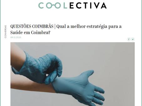 """""""Qual a melhor estratégia para a Saúde em Coimbra?"""" - Contributo do Somos Coimbra para a Coolectiva"""