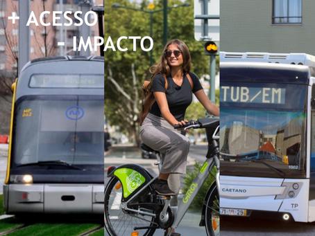 Qual é a estratégia da Câmara Municipal de Coimbra para a mobilidade na próxima década?