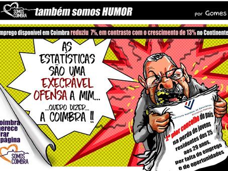 Estatísticas mostram decadência de Coimbra