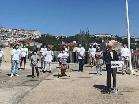 Somos a coligação Juntos Somos Coimbra