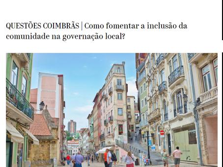 """Inclusão da comunidade na governação local - Contributo do SC para as """"Questões Coimbrãs"""""""