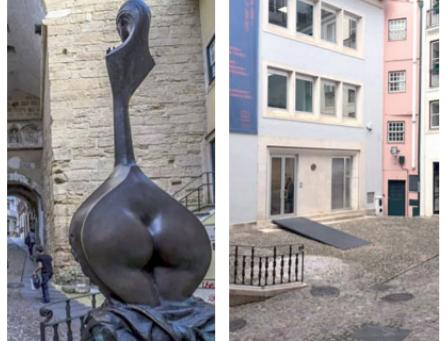 """""""Permanece o mistério quanto à razão da CMC fazer desaparecer a escultura da Canção de Coimbra"""""""