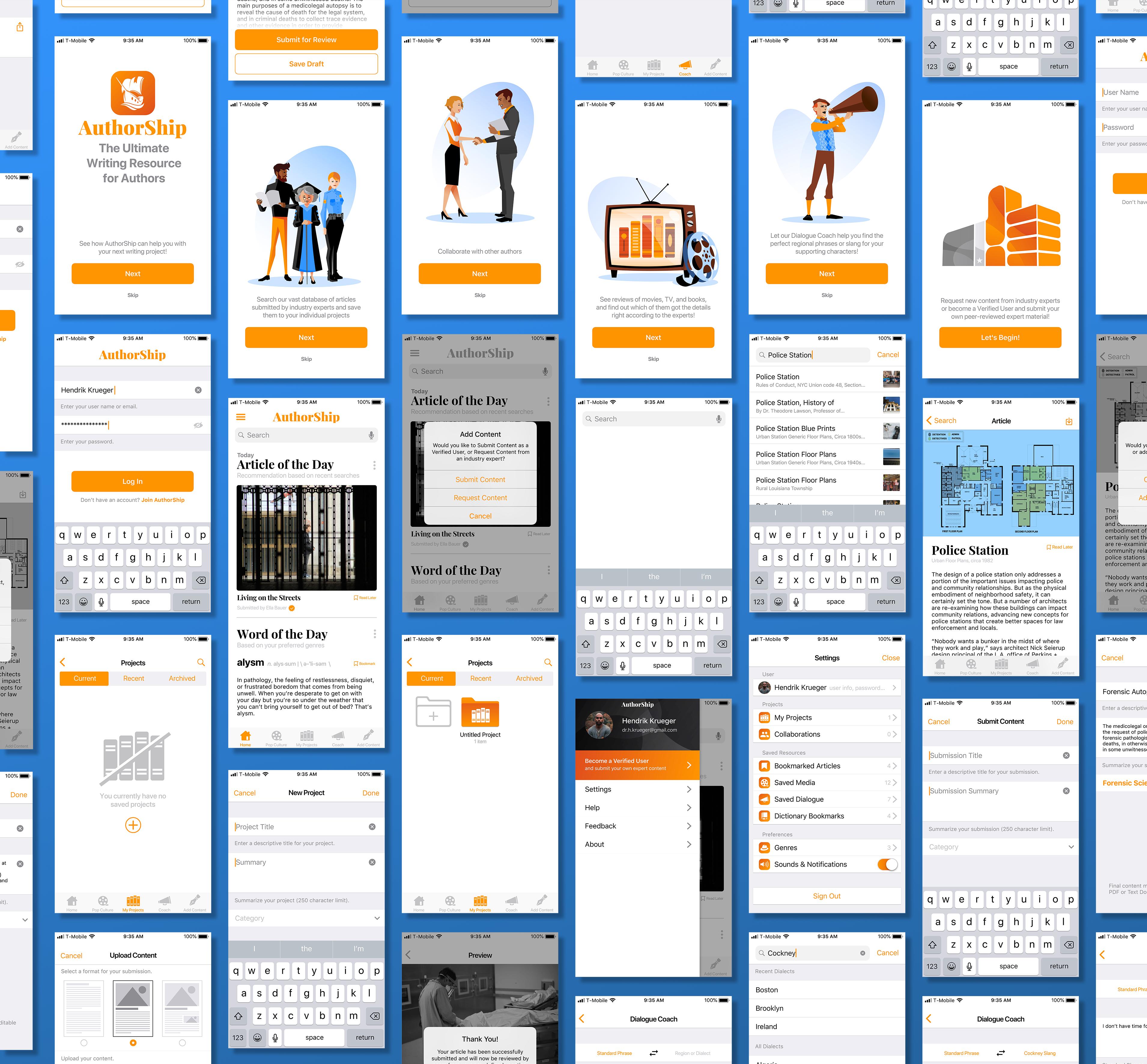 AuthorShip High Fidelity Mockup iOS-0001