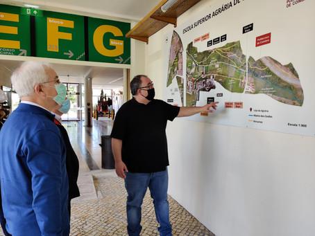 Visita à Escola Superior Agrária de Coimbra